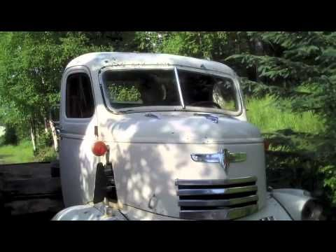 1946 Chevy 2 Ton Cab Over Engine Drives for the first time in 20 years