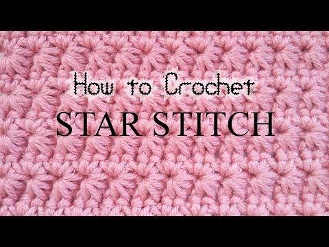 코바늘무늬)전설의 쟈스민 스티치 도전합시다 #Jasmine stitch #Crochet ...