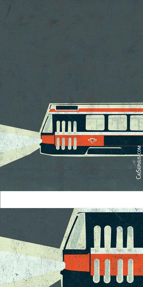 Toronto Streetcar, by Cai Sepulis