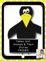 Fables Unit: Animals and their Stories Freebie FREE