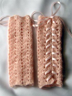 Cassie Leg Warmers - Crochet Me (would be adorable arm warmers, too!)
