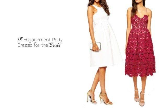 18 Engagement Party Dresses for the Bride | weddingsonline