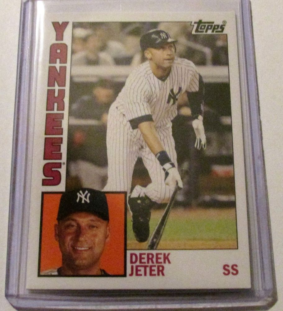 Park Art|My WordPress Blog_Derek Jeter Topps Rookie Card Ebay