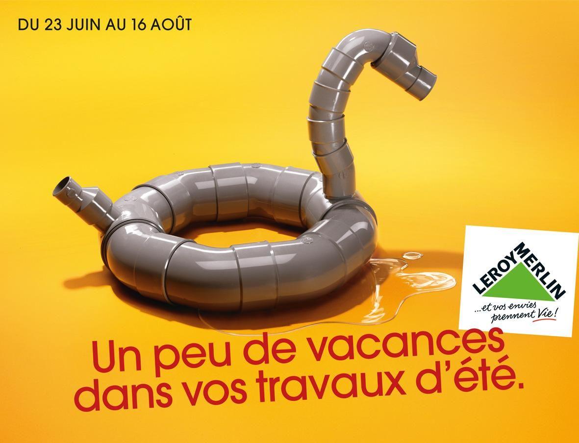 Leroy Merlin Print Advert By Kuryo Duck Ads Of The World Creative Banners Merlin France Art