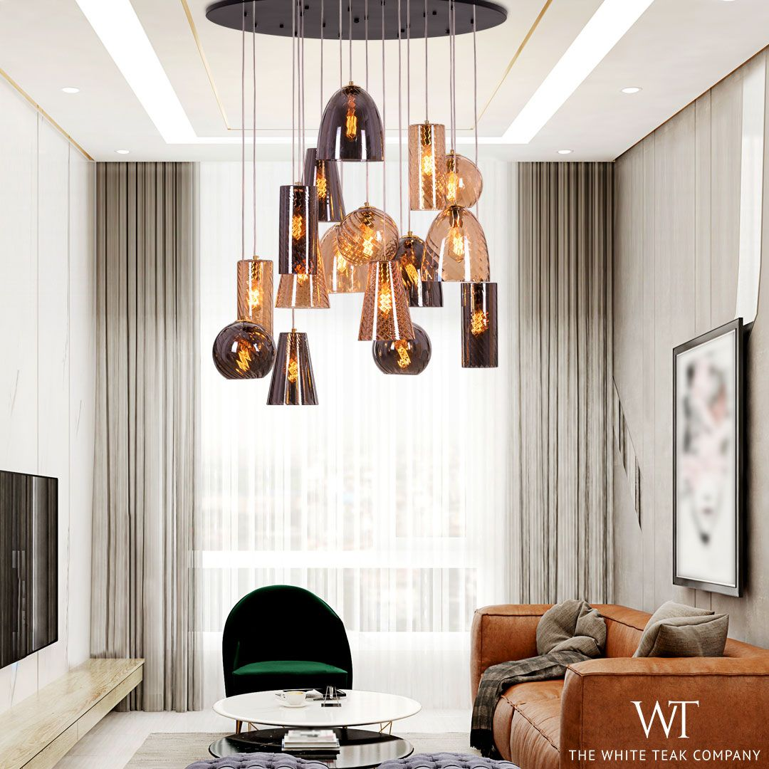 Glimpse Of Hope Double Height Chandelier In 2020 Living Room Decor Chandelier Home Decor