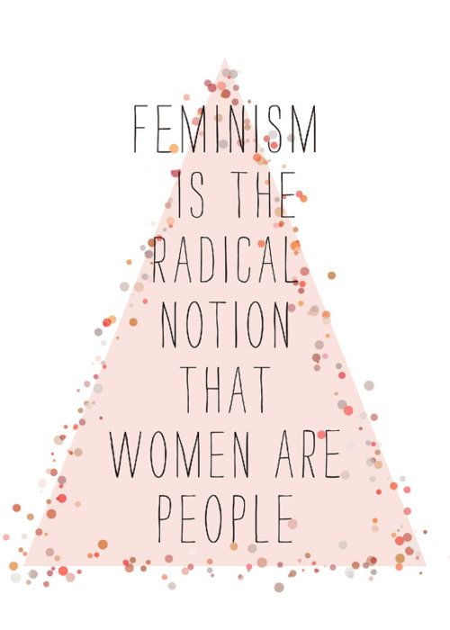 Feminist effects on society