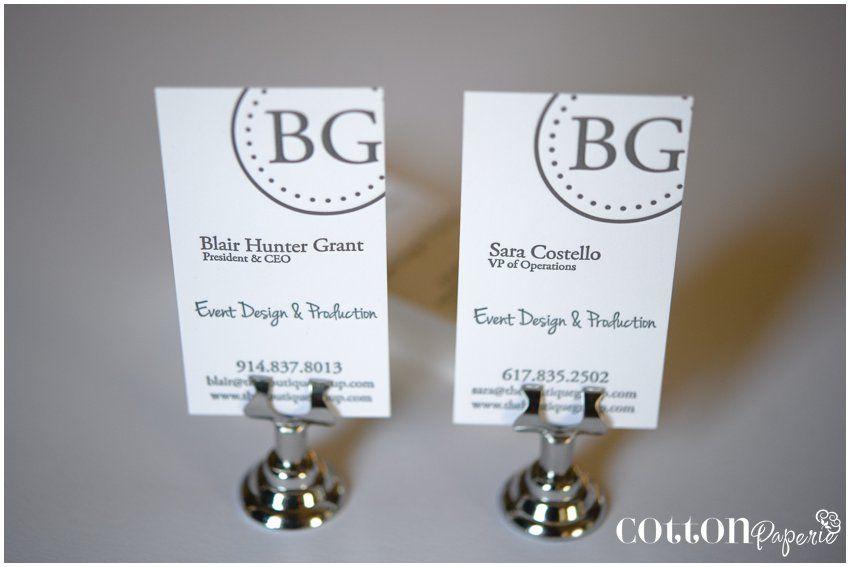 letterpress event planner business cards | FUN BUSINESS IDEA ...