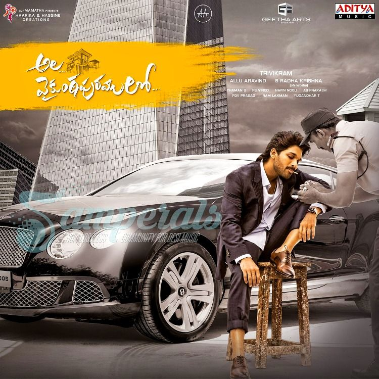Ala Vaikunthapurramuloo 2020 Digitalrip Wav In 2020 New Movie Song Dj Movie Allu Arjun Images