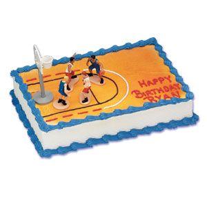 BASKETBALL CAKE KIT Basketball Party Pinterest Cake ...