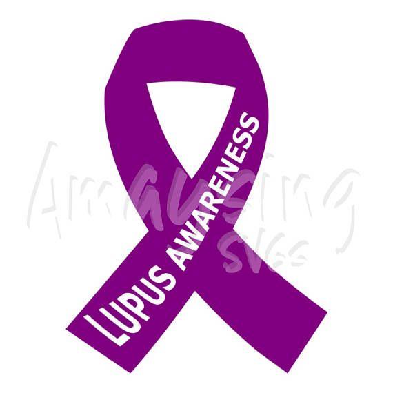Svg Lupus Awareness Ribbon Lupus Purple Ribbon Lupus Awareness Month Awareness Tshirt Svg Tshirt Svg Banner Svg Card Svg Lupus Awareness Awareness Ribbons Awareness Tshirts