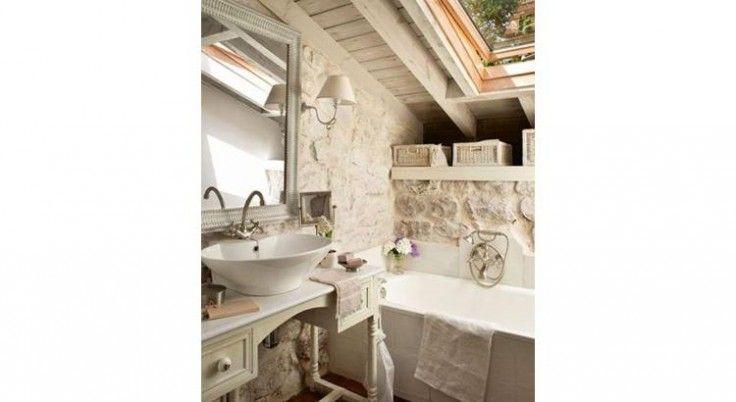 Inspiration  15 salles de bains Campagne chic pour s\u0027inspirer