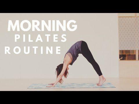 Quick Morning Pilates Routine   Lottie Murphy
