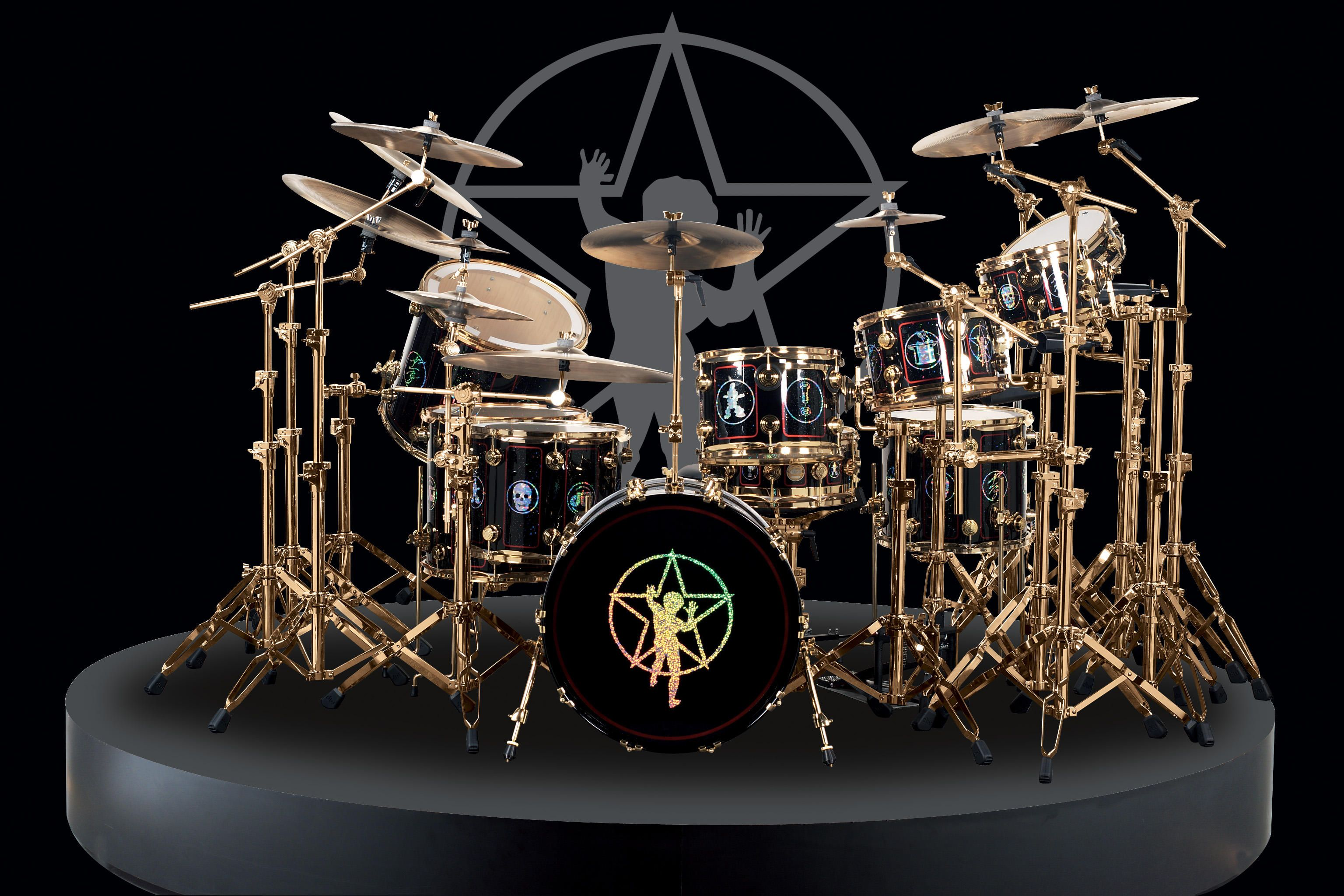 The DW Drums Neil Peart Commemorative Kit Be First Kid On Your Block To Rock These