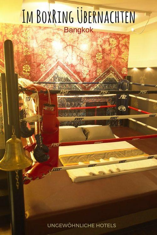 Auch Wenn Du Kein Boxer Bist, Wird Dich Dieses Originelle Themenzimmer Mit  Einem Zum Bett Umfunktionierten Boxring Buchstäblich Umhauen | Das  Hotelzimmer ...