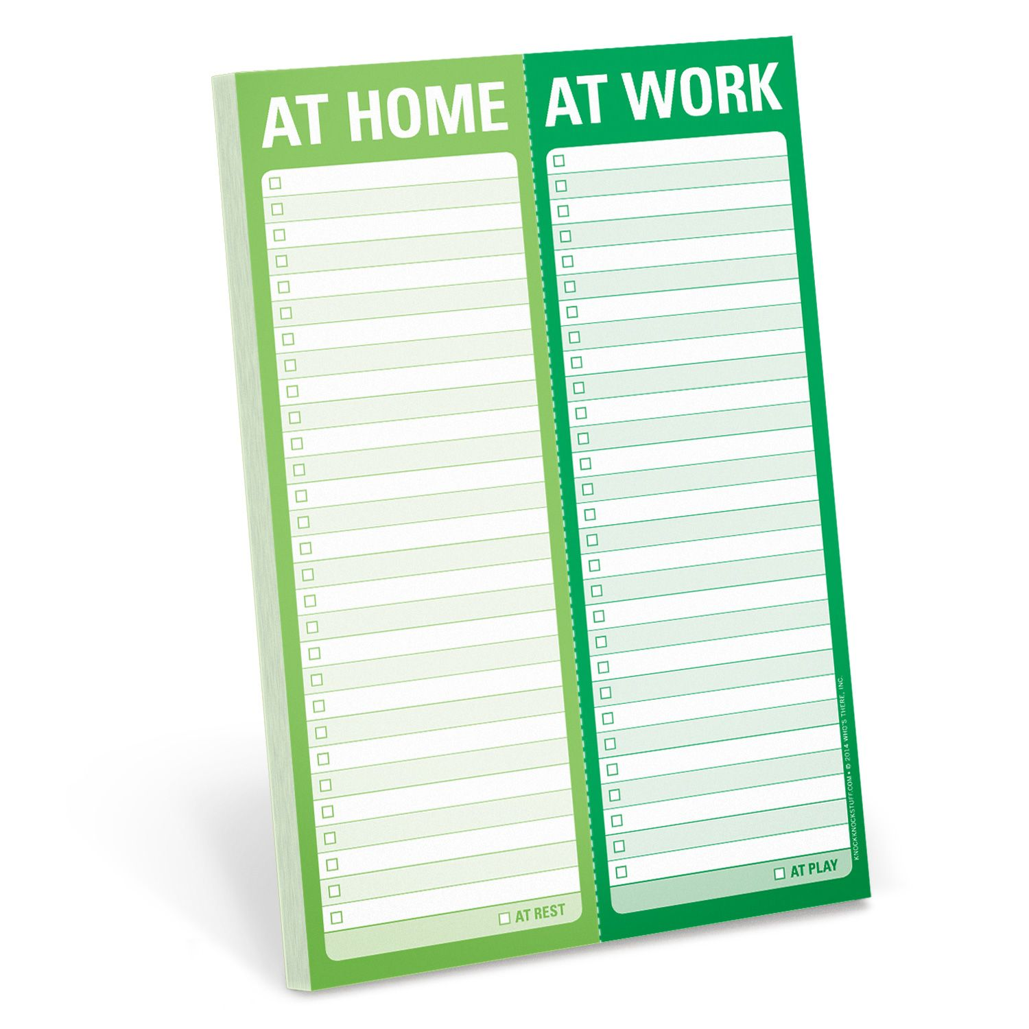 At Home / At Work Perforated Pad