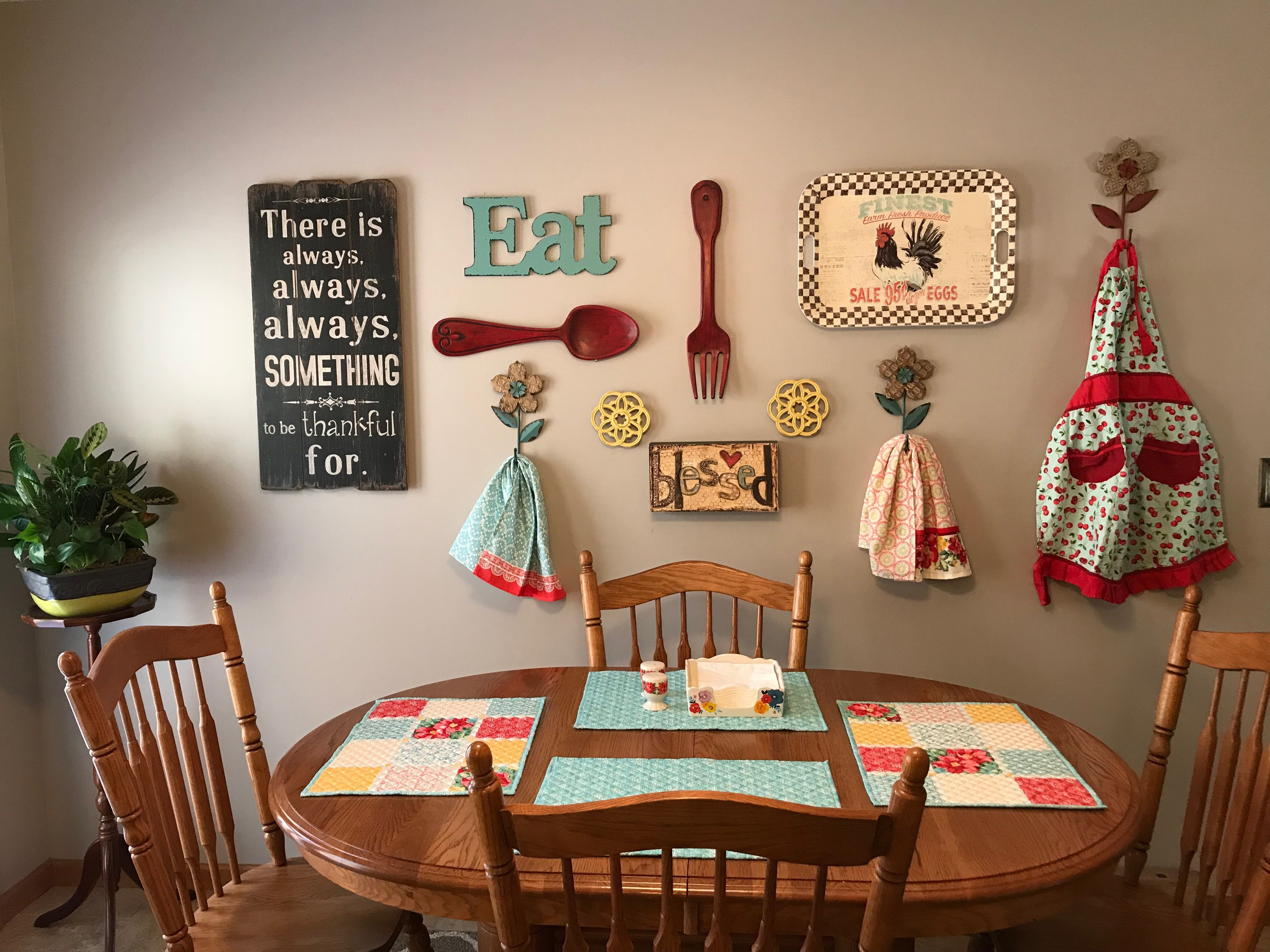 Gallery Wall Kitchen Wall Decor Pioneer Woman Kitchen Decor Kitchen Gallery Wall
