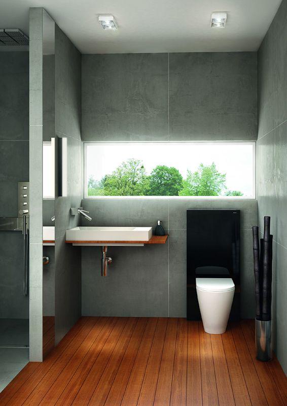 Keine Badezimmerfliesen An Den Wänden ? Moonjet.info Wandgehangtes Waschbecken Beton Trendiges Design