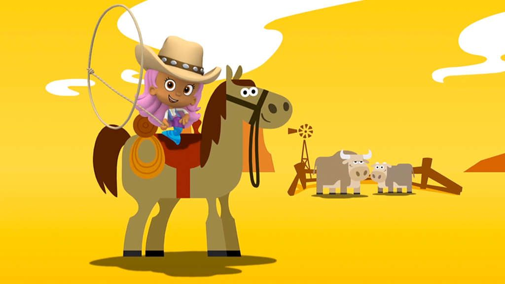Bubble Guppies S2, Ep207 The Cowgirl Parade! Full Episode