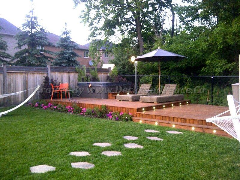Cedar Patio Decks And Landscaping Design   Toronto Custom Deck Design,  Pergolas, Fences, Outdoor Kitchens, Landscaping U0026 Interlocking