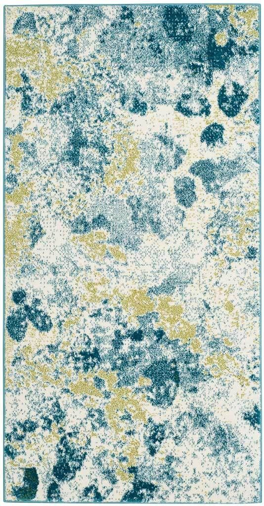 Watercolor Ivory Light Blue Area Rug Watercolor Rug Blue Area
