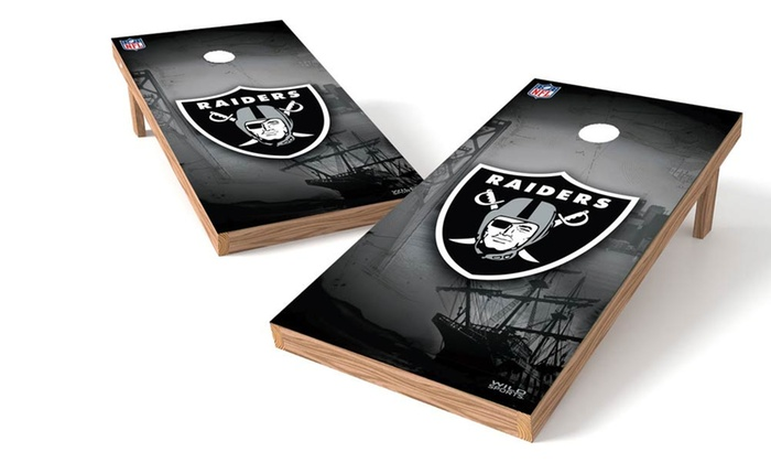 Up To 46 Off on 2'x4' NFL Cornhole Boards Groupon Goods