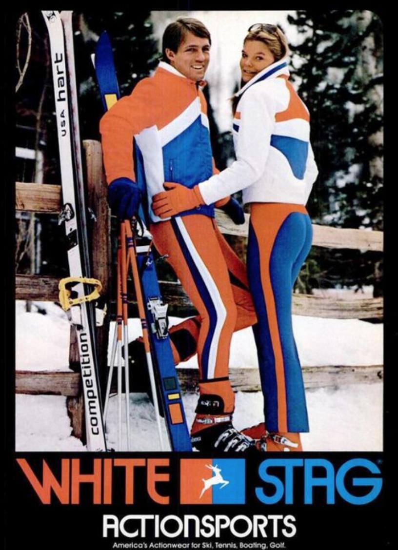 Combinaison de  ski ancienne pour les sports d hiver, très mode !  look   skieur  vintage e79863a188e