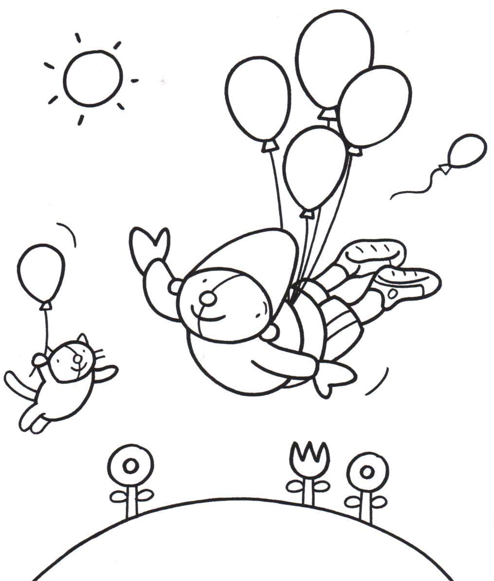 Babilu Kleurplaat