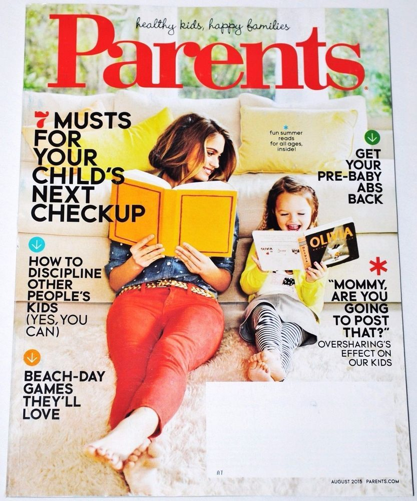 Parents Magazine August 2015 Ebay Listings For 2017 Pinterest