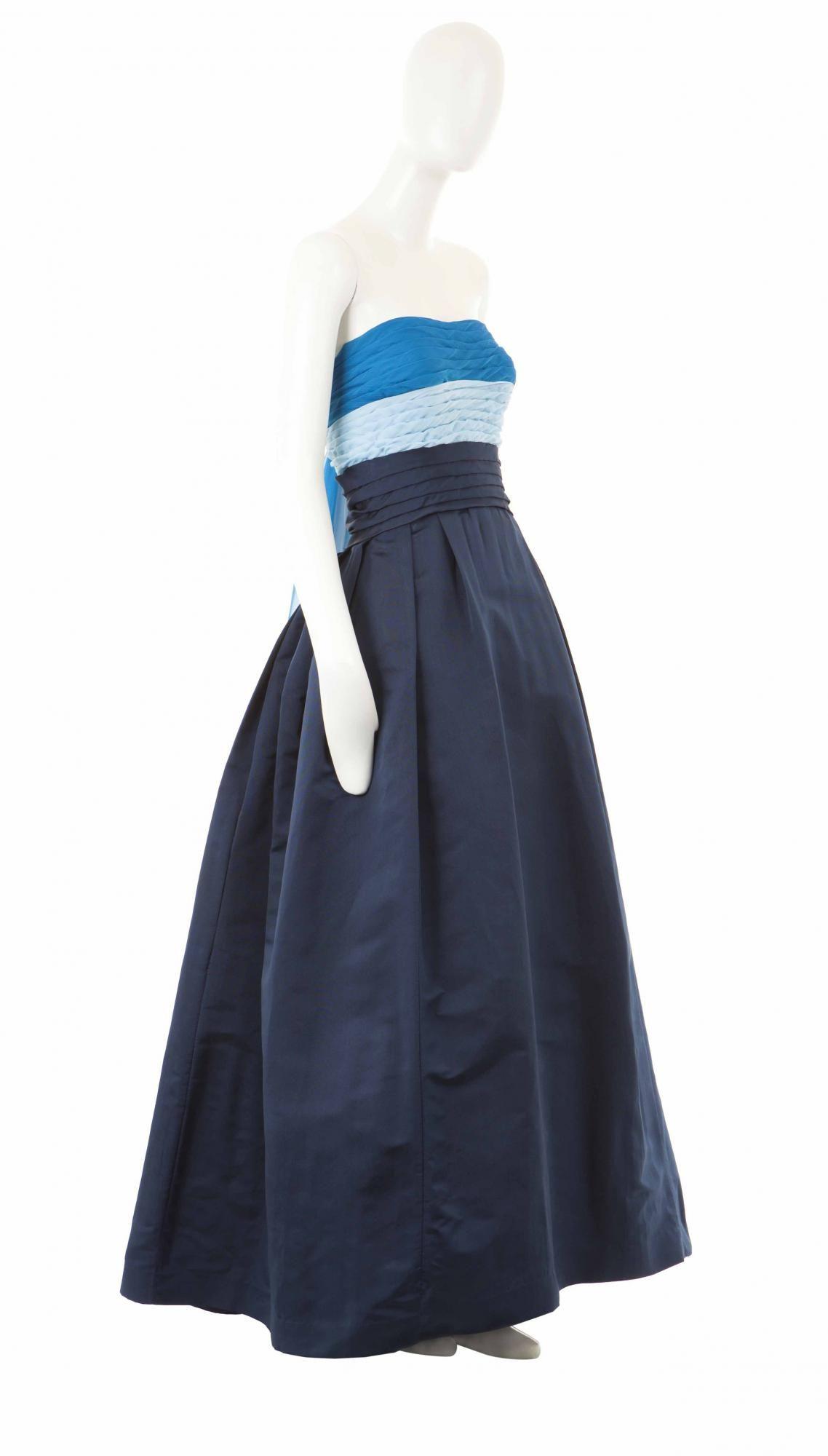 A Pierre Balmain haute couture dress, circa 1949