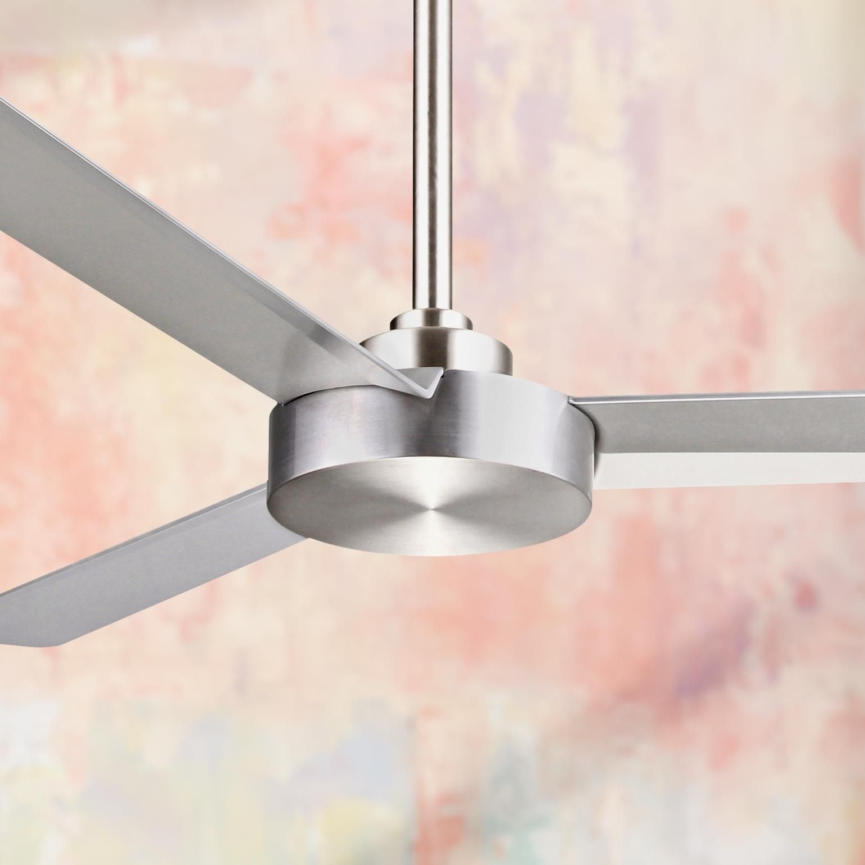 52 Minka Aire Roto Brushed Aluminum Ceiling Fan 6h282 Lamps