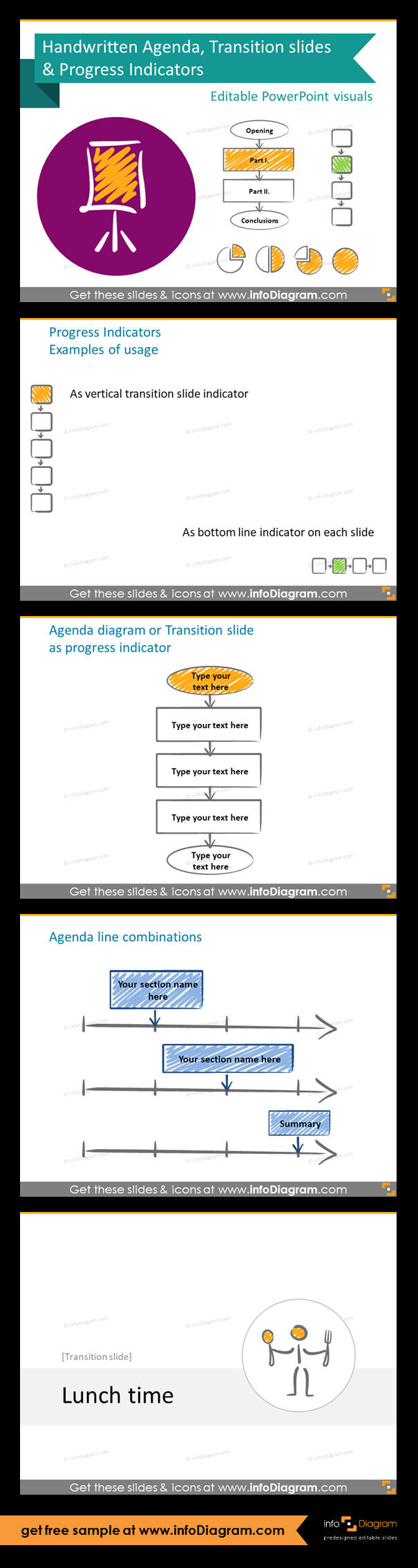 Presentations Structure Slide Deck With Agenda And Progress