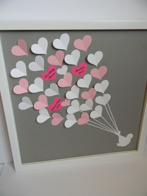 Baby shower guest book alternative, baby shower gift, personalized baby room…