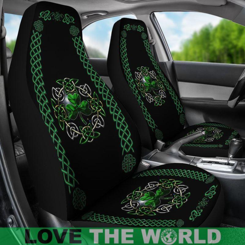 Celtic, Shamrock, Ireland, Irish, Car Seat Covers, Car