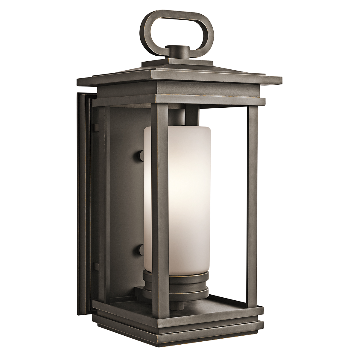 Kichler South Hope 1 Light Outdoor Wall Sconce   in  Rubbed Bronze   Simple  and sophisticated  the Kichler South Hope 1 Light Outdoor Wall Sconce   in South Hope Large Fluorescent Outdoor Lantern in RZ KICHLER  . Kichler Lighting Outdoor Sconce. Home Design Ideas