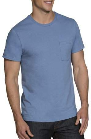 3e9e2fe039d2cc Fruit of the Loom Big Men s Dual Defense Assorted Pocket T-Shirts Extended  Sizes