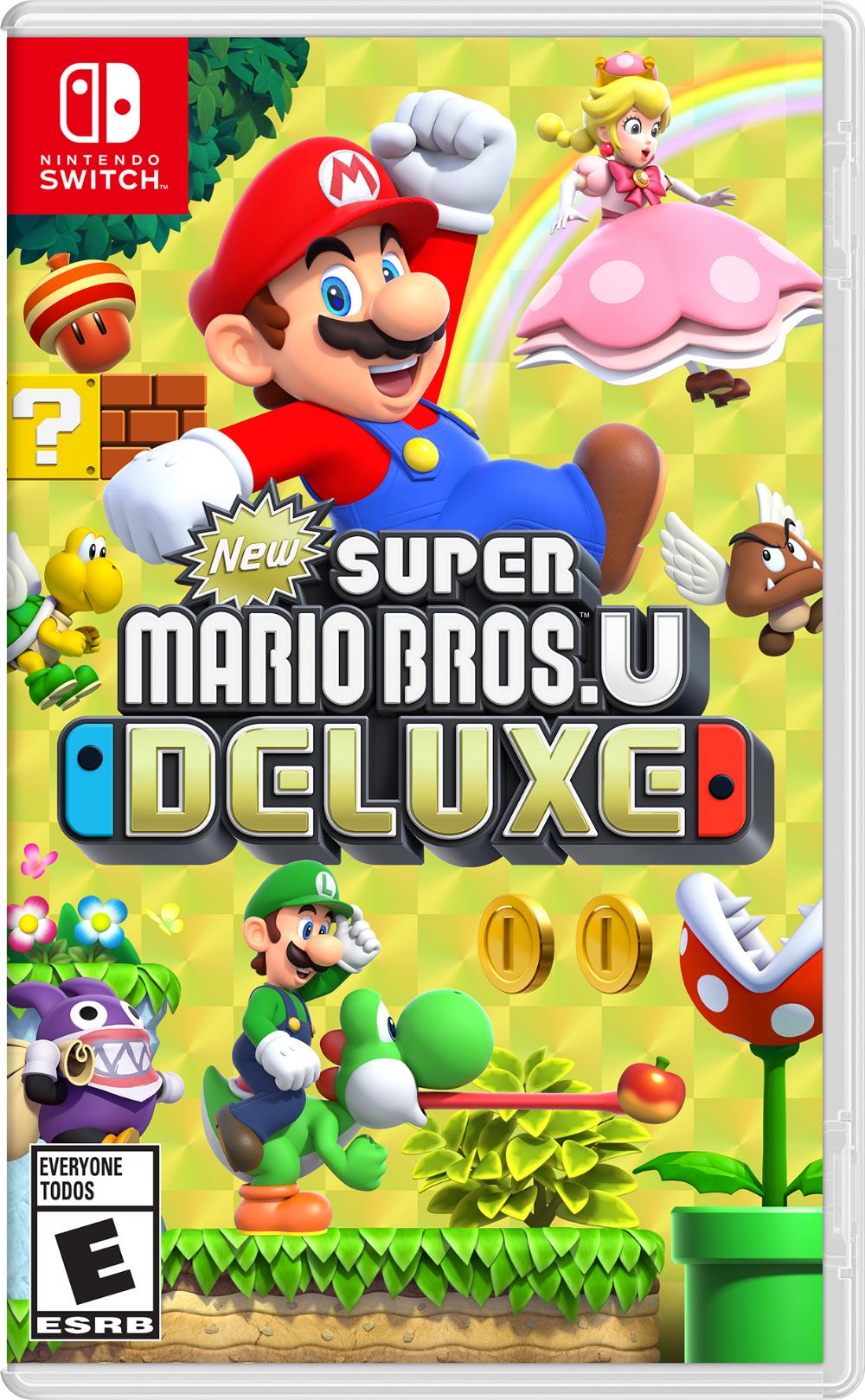 New Super Mario Bros U Deluxe Nintendo Nintendo Switch 045496592691 Walmart Com Super Mario Bros Mario Bros Mario Switch