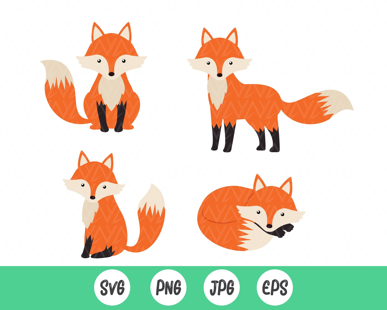 Fox Svg Bundle Foxes Clipart Emotional Fox Clipart Anime Etsy Baby Clip Art Baby Fox Clip Art