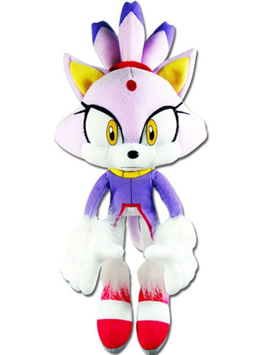 Details About Real Authentic Great Eastern Ge 52636 Sonic The Hedgehog 14 Blaze The Cat Plush