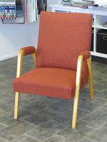 50-luvun kevyt nojatuoli