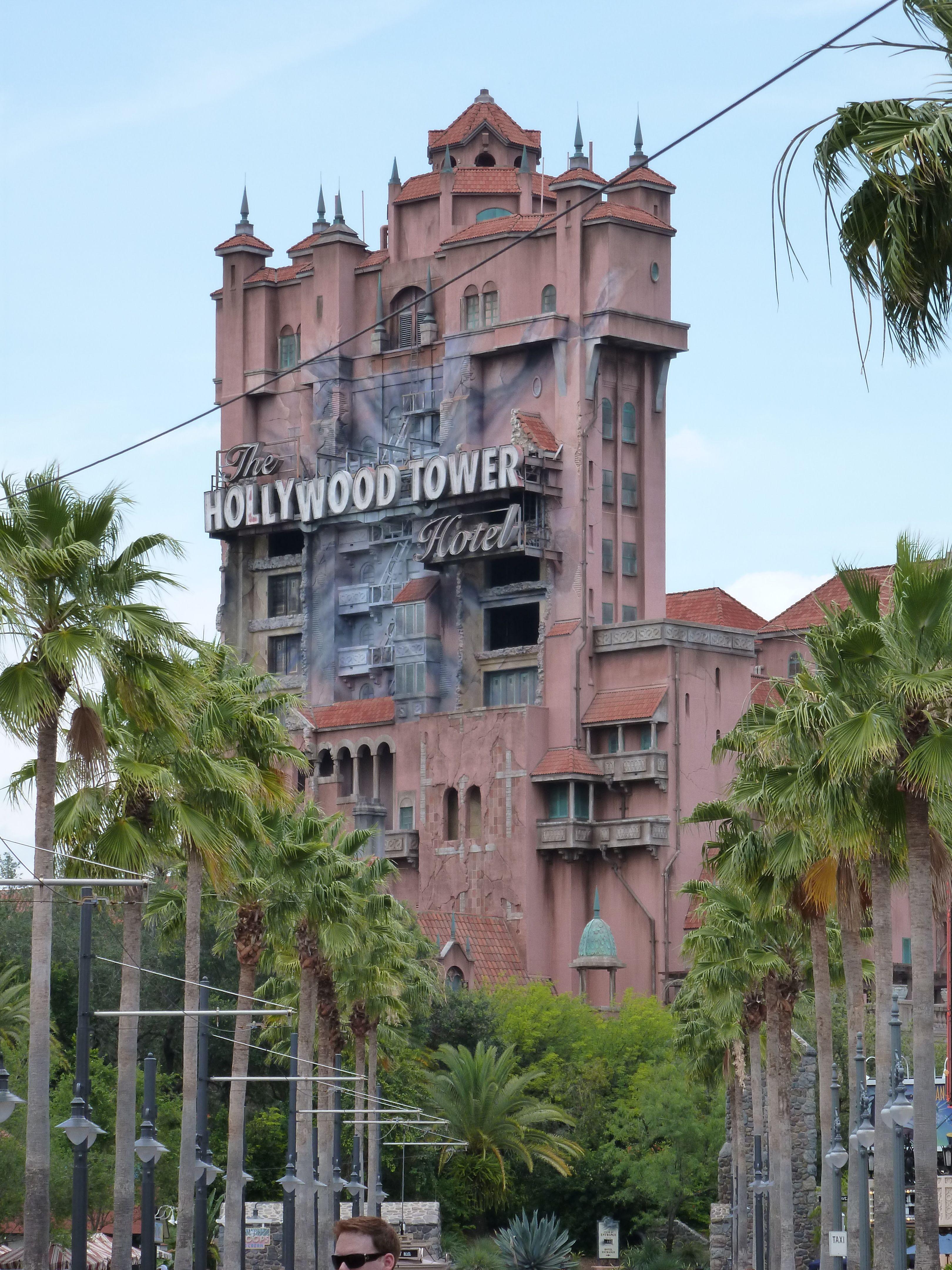 Tower Of Terror Thrill Ride At Disney World Hollywood Studios In Orlando Fl Family Vacation Disney World Hollywood Studios Rides At Disney Tower Of Terror