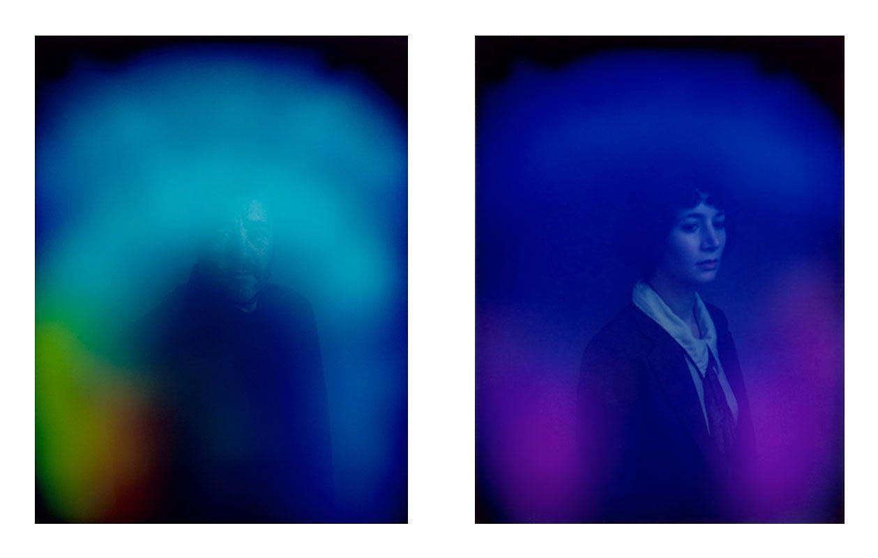 La máquina de retratos sensible al aura de Carlo van de Roer/
