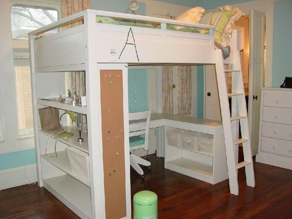 Bunk Bed with Storage Stairs and Desk Best Ergonomic