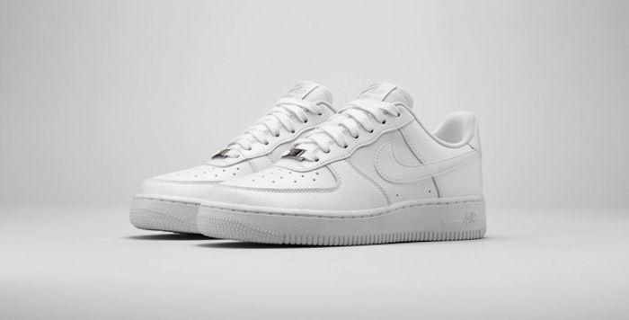 Nike Air Force 1 Premium - Seul Blanc / Glace Individuelle