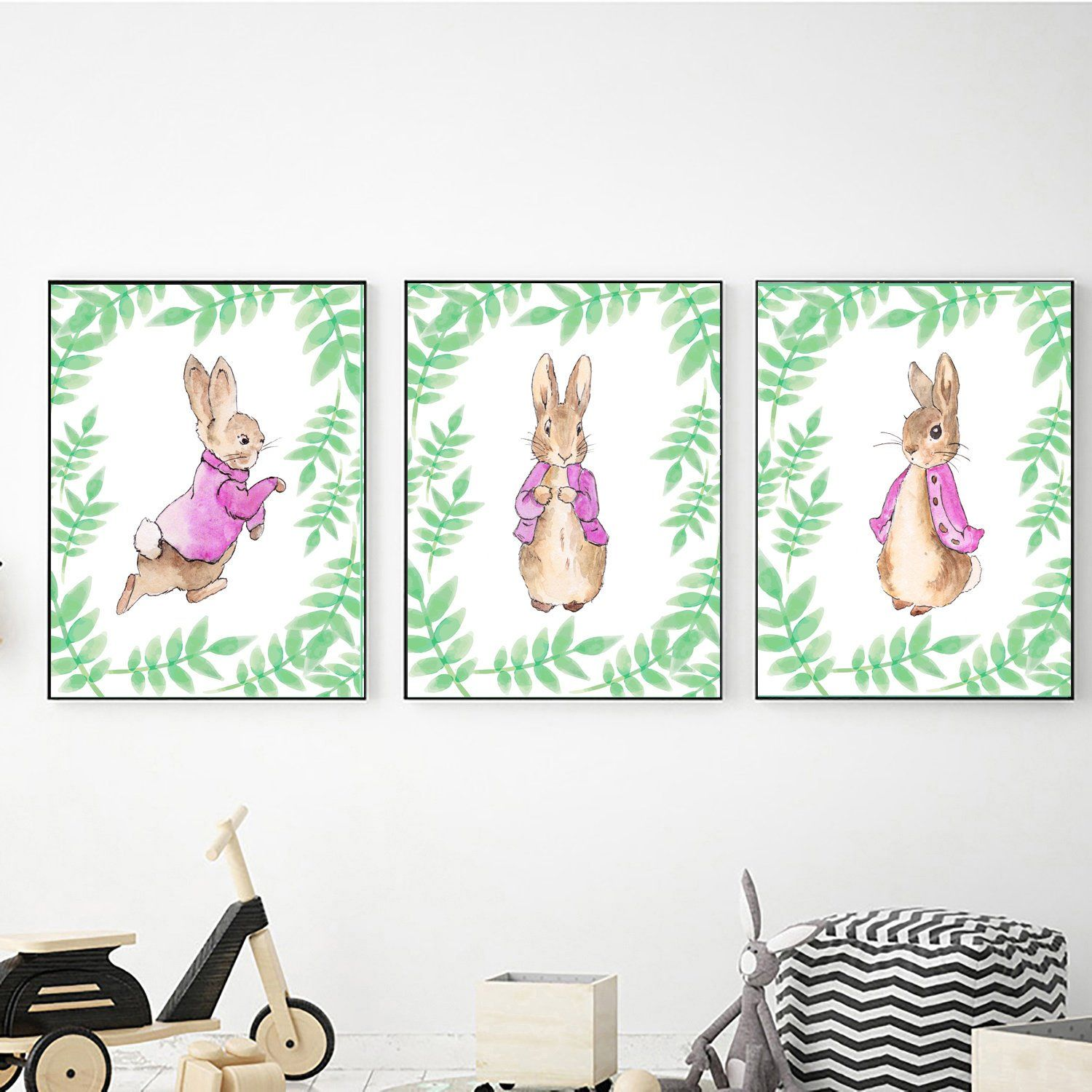 Peter Rabbit Set Of 3 Prints Digital Download Peter Rabbit