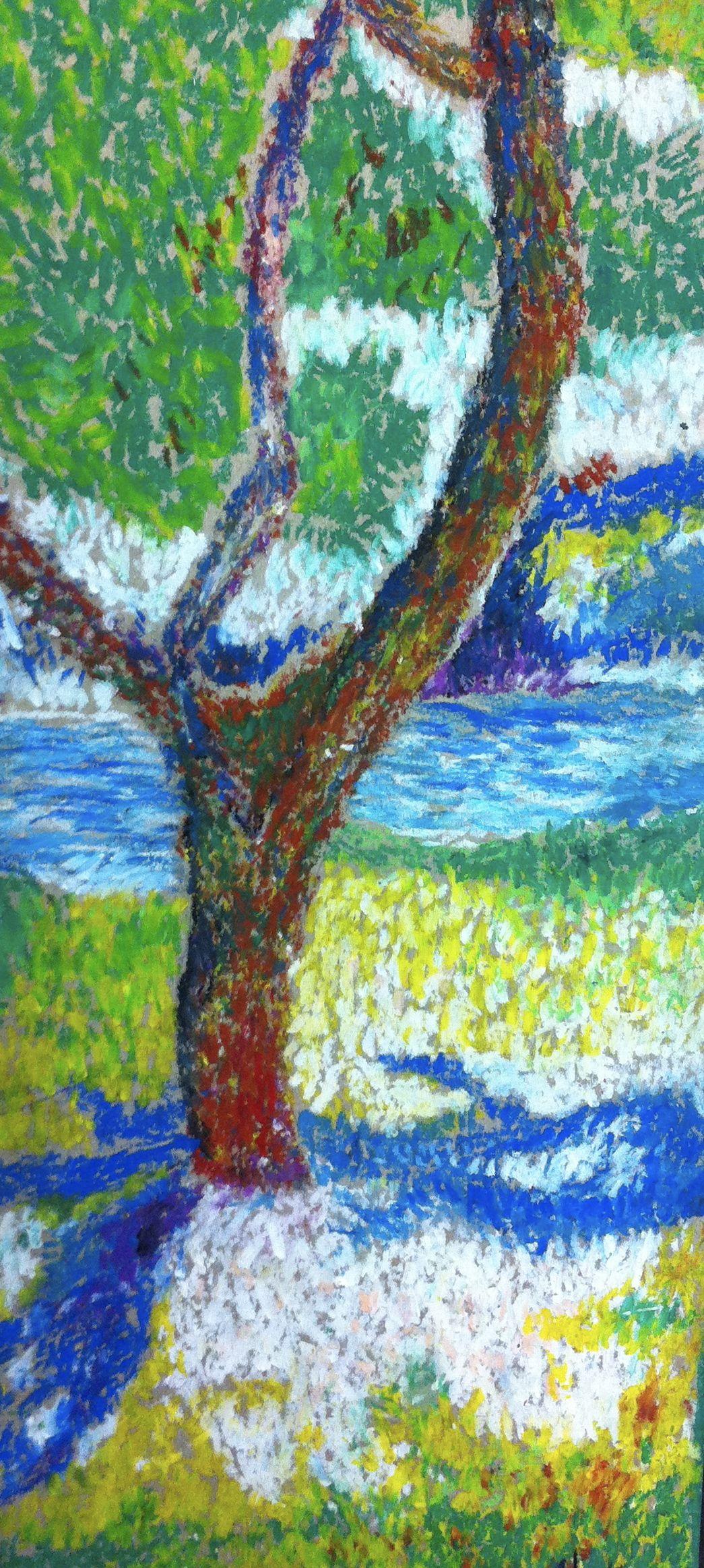 Pointillism Oil Pastels 1 045 2 325 Pixels