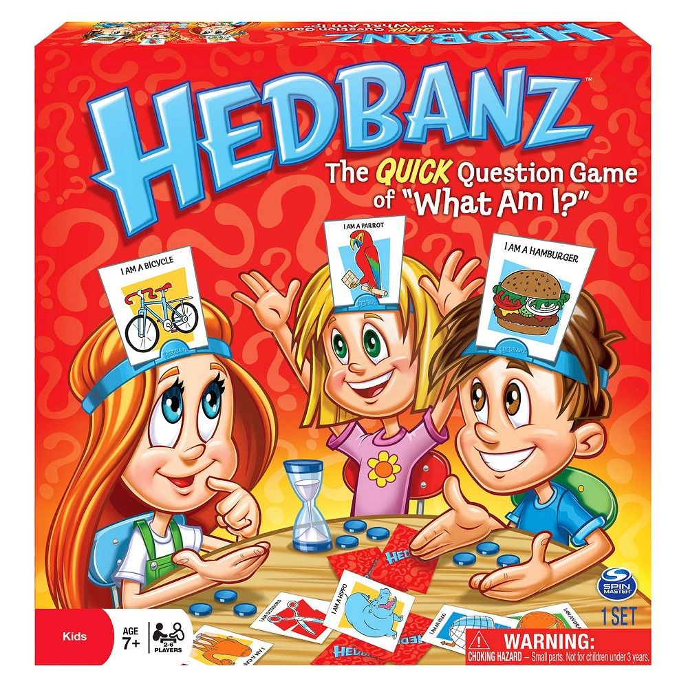 Hedbanz original game board games guessing games for