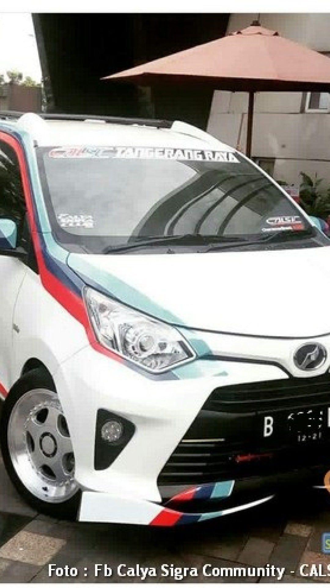 Modifikasi Mobil Calya Putih Modifikasi Mobil Mobil Motor Mobil