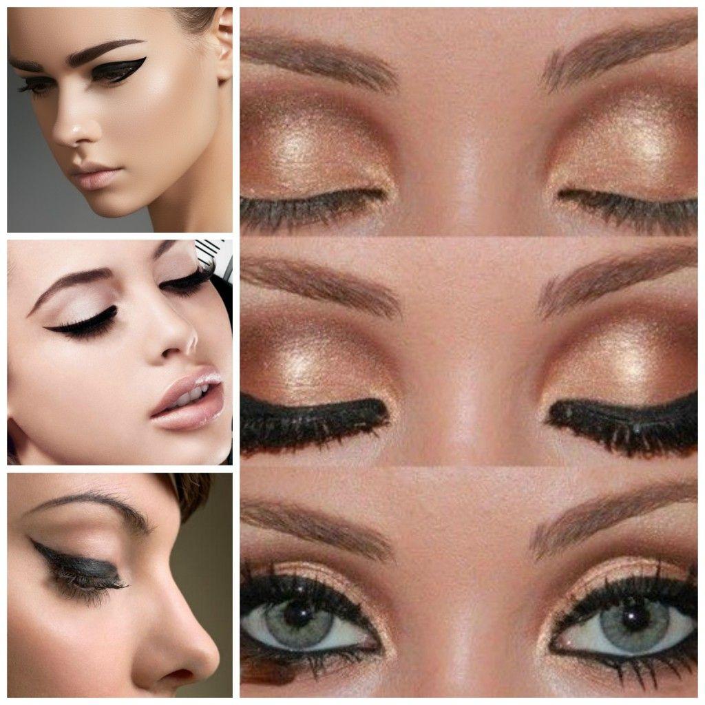 Pencil eyeliner vs. liquid eyeliner #eyeliner #cateyes #makeup ...
