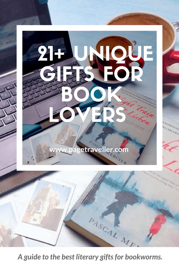 21 unique gift ideas for bookworms who love to travel | for you