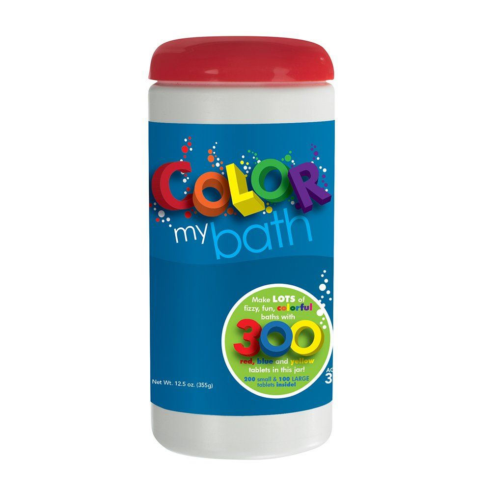 Amazon Com Color My Bath Color Changing Bath Tablets 300 Piece
